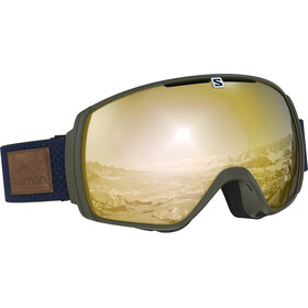 Salomon XT One Goggles Olive Night